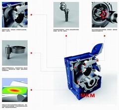 MKM系列准双曲面中空减速机