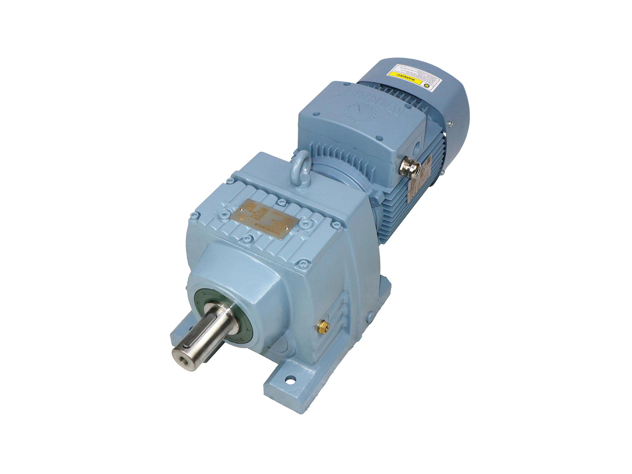 MR series helical bevel gear hard tooth surface reducer