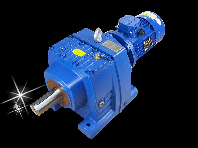 MR series helical bevel gear hard tooth surface reducer 4