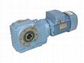 MK series bevel gear motor