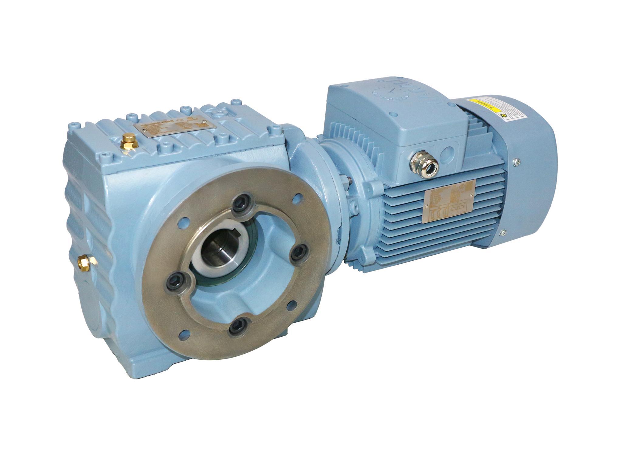 MS系列斜齒輪-蝸輪減速電機 3