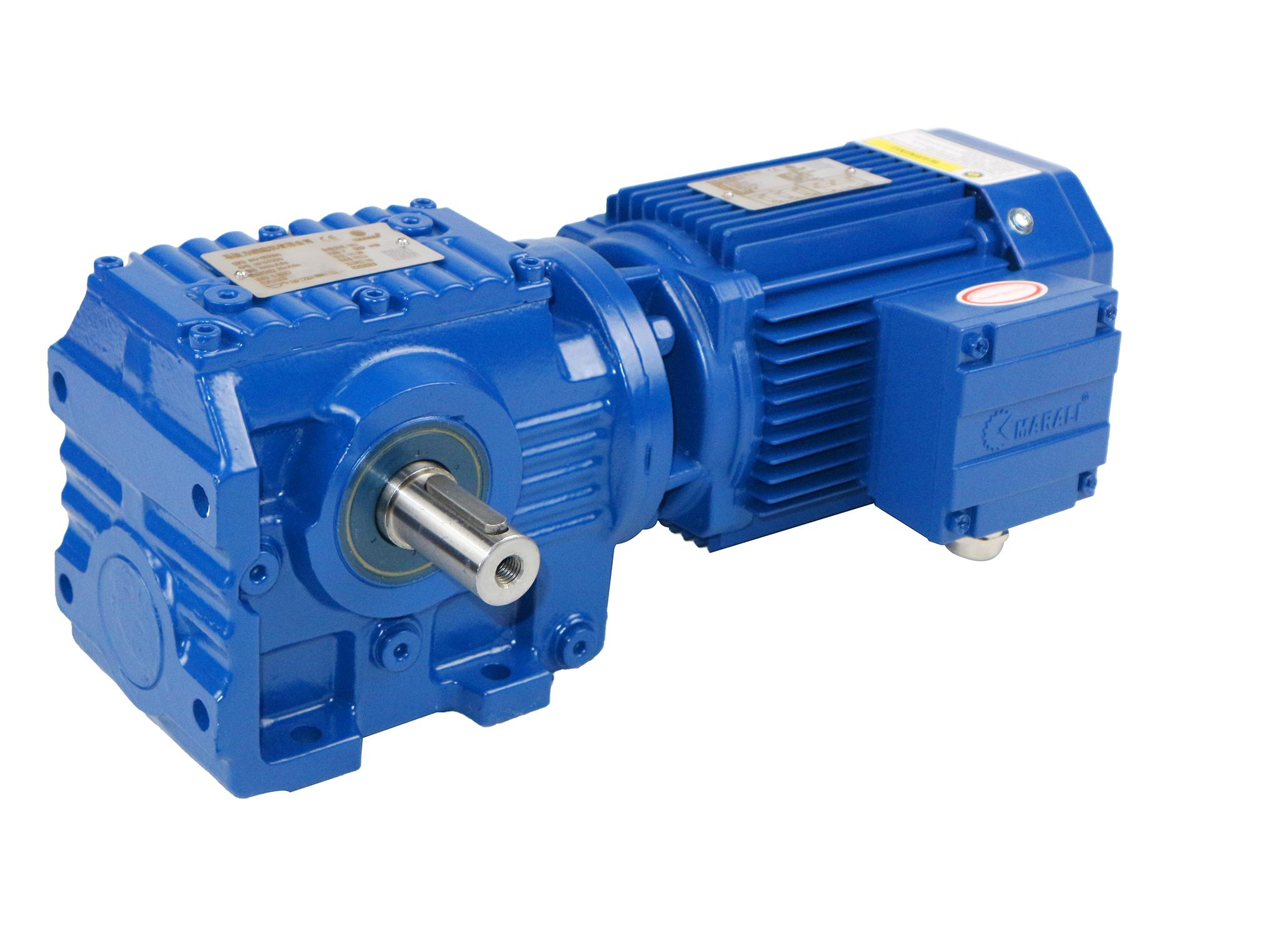 MS系列斜齒輪-蝸輪減速電機 5