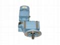 MF series helical gear motor