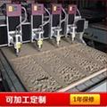 宏達機械生產大型多頭平面浮雕雕