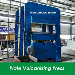 Two Working Layers Plate Hydraulic Press, Vulcanizing Press