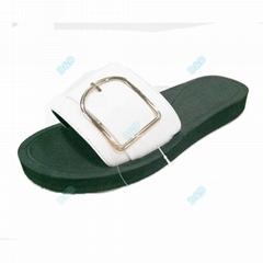 Hot sale women leather slipper sandals