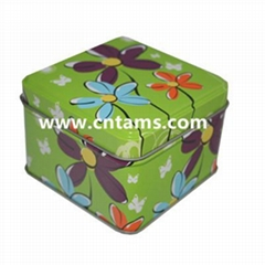 Tam's tin box for food packing