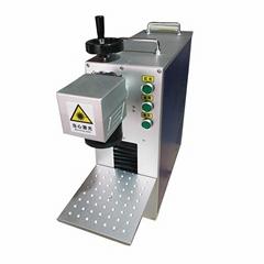 20W Fiber Laser Marking Machine Used For phone case watch metal engraving machin