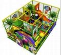 HLB-I17039 Children  Indoor Playground