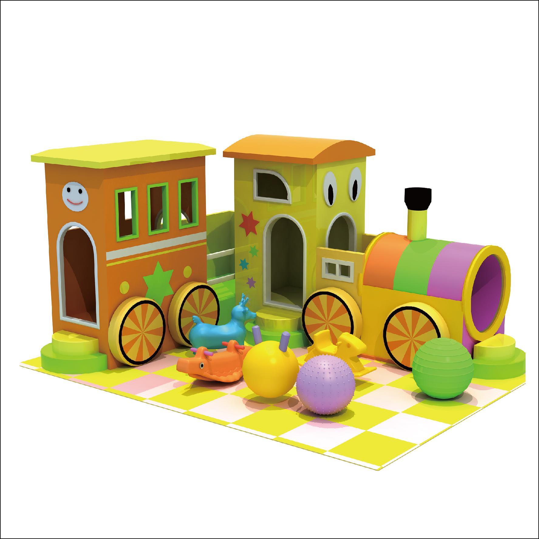 HLB-D1721 Children Playground Kids Indoor Playhouse 1