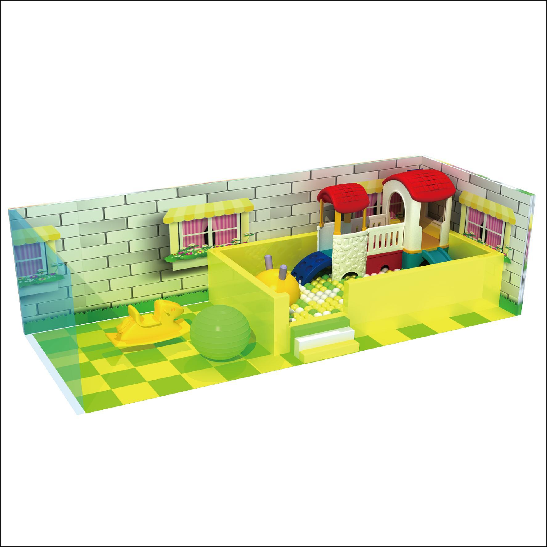 HLB-D1721 Children Playground Kids Indoor Playhouse 2