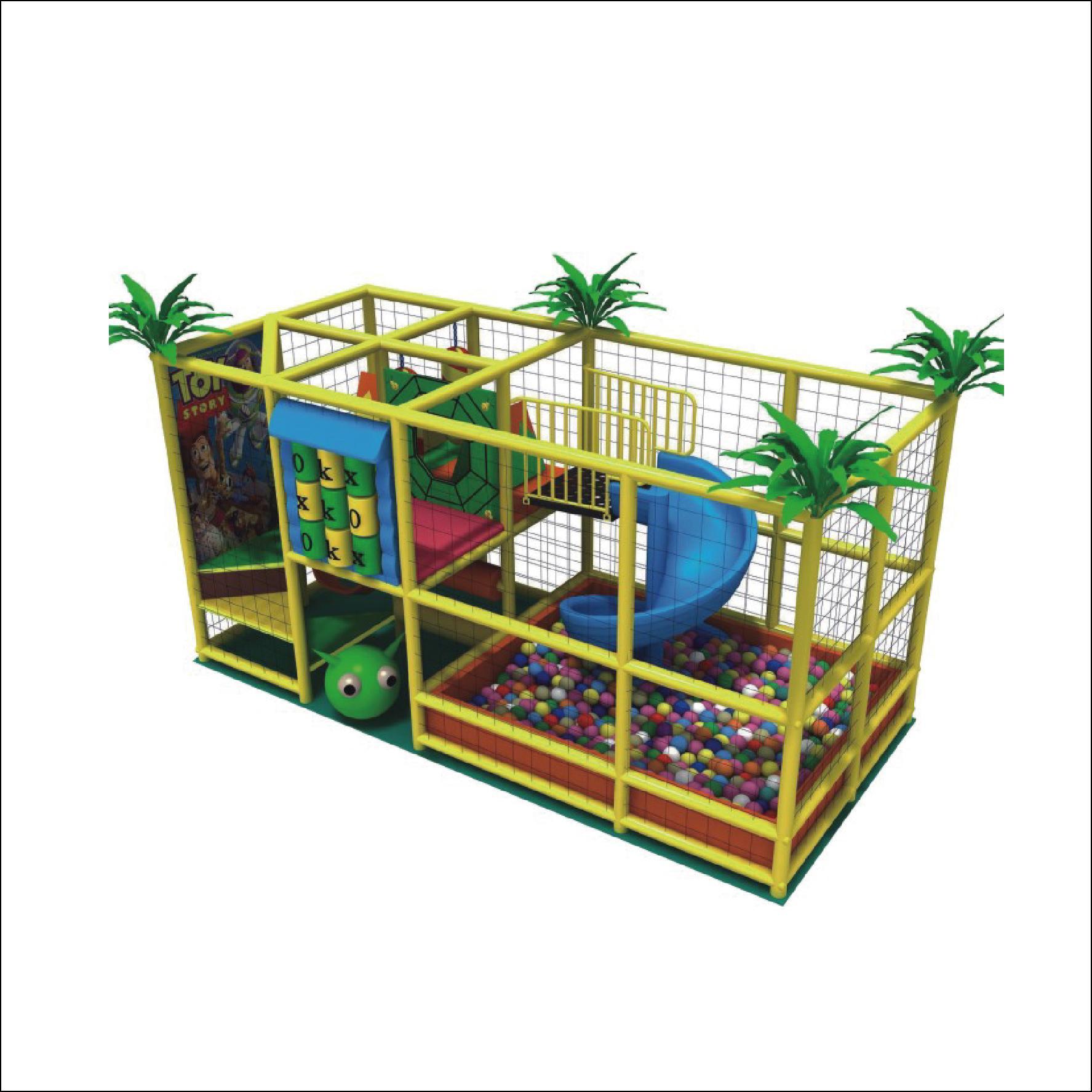 HLB-D1721 Children Playground Kids Indoor Playhouse 5