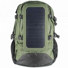 Green Solar Backpabk