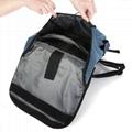 Blue Solar Backpack