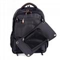 SUTUNG Black Solar Backpack