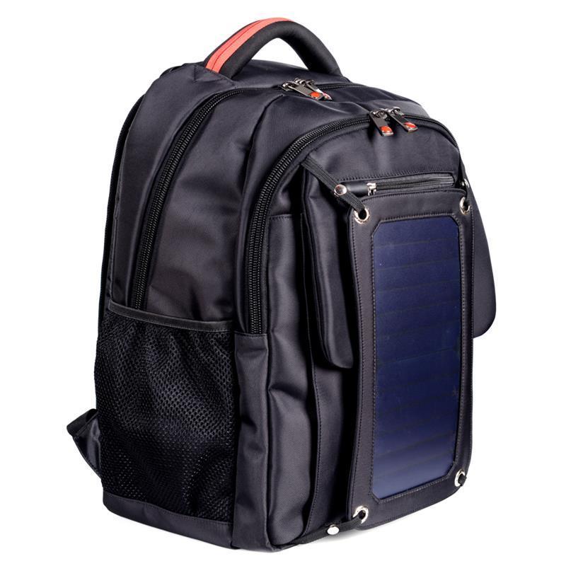 SUTUNG Black Solar Backpack 1
