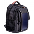 SUTUNG Black Solar Backpack