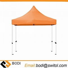 Pop up Outside Orange Advertising Canopy Tent Marquee Ez up Commerical Gazebo