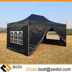 Hot 10X15 FT Custom Outdoor Reinforced Frame Gazebos Heavy Duty Pop up Marquee