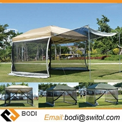 Outdoor High Density Gazebo Environmental Protection Network Anti Mosquito Nets