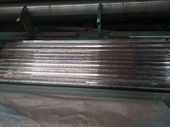 GI galvanzied corrugated steel sheet