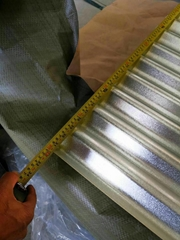 GL galvanzied corrugated steel sheet