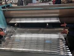 bright galvanzied corrugated steel sheet