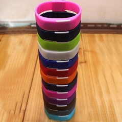 Promotional Silicone Rubber Wristband LED Watch