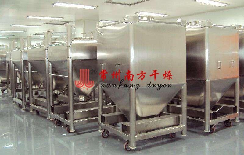 提升式料斗混合機 製藥化工料斗混料機 3