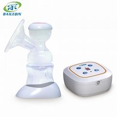 百乐亲电动吸奶器 智能静音可拆锂电池吸奶器 可OEM定制