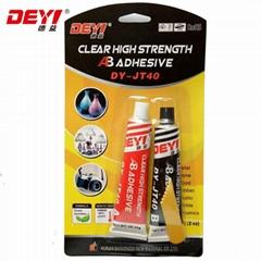 High Quality Latest Transparent Modified-Acrylic Ab Adhesive Glue Jt40