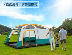 1-10 Person Outdoor Camping Tent Waterproof 4 Season Family House Hiking Tent