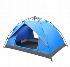 Portable Waterproof Pop-Up Tent 3-4 Person Foldable Camping Outdoor Hiking Trip