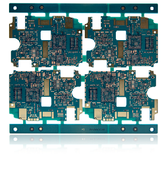 10L Any layer Copper Filled Vias PCB for Mobile Terminal 1
