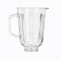 Good Quality 1.5L large juicer replacement glass jar blenderA07-8 2