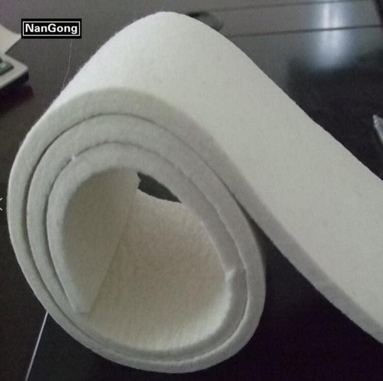 100% nature menrio  wool felt manufacture 1