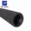flexible EPDM machine extrusion rubber hose delivery air / water / steam 3