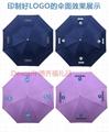 廣告傘 企業logo創意設計禮品傘 晴雨傘 三折傘熱銷 2