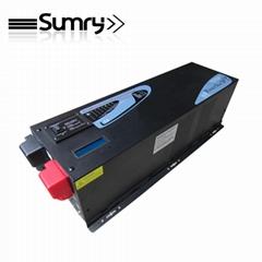 dc to ac 12v/24v/48v 230v off grid inverter with battery charger
