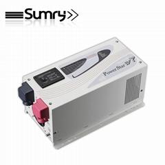 110v/220v 12v/24v dc to ac pure sine wave power inverter with battery charger
