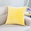 简约现代毛绒纯色抱枕车里办公室腰枕沙发床上大靠背靠枕含芯定制 4