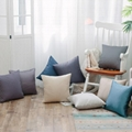 中式抱枕简约现代红木沙发床上靠枕车里办公室腰枕含芯靠背垫套 1