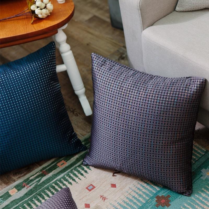 中式抱枕简约现代红木沙发床上靠枕车里办公室腰枕含芯靠背垫套 4