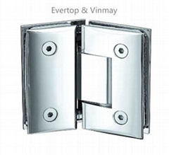 stainless steel bathroom hinge