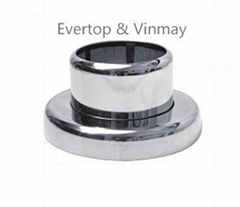 stainless steel  flange for tube decoration