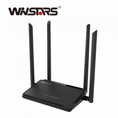 High Power Wireless N broadband Router with Four Antennas