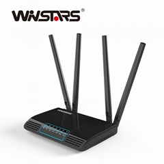 AC1200 Wireless Smart Dual Band WiFi Router with Smart APP Management CE FCC