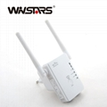N300 wifi range extender with 2 antennas