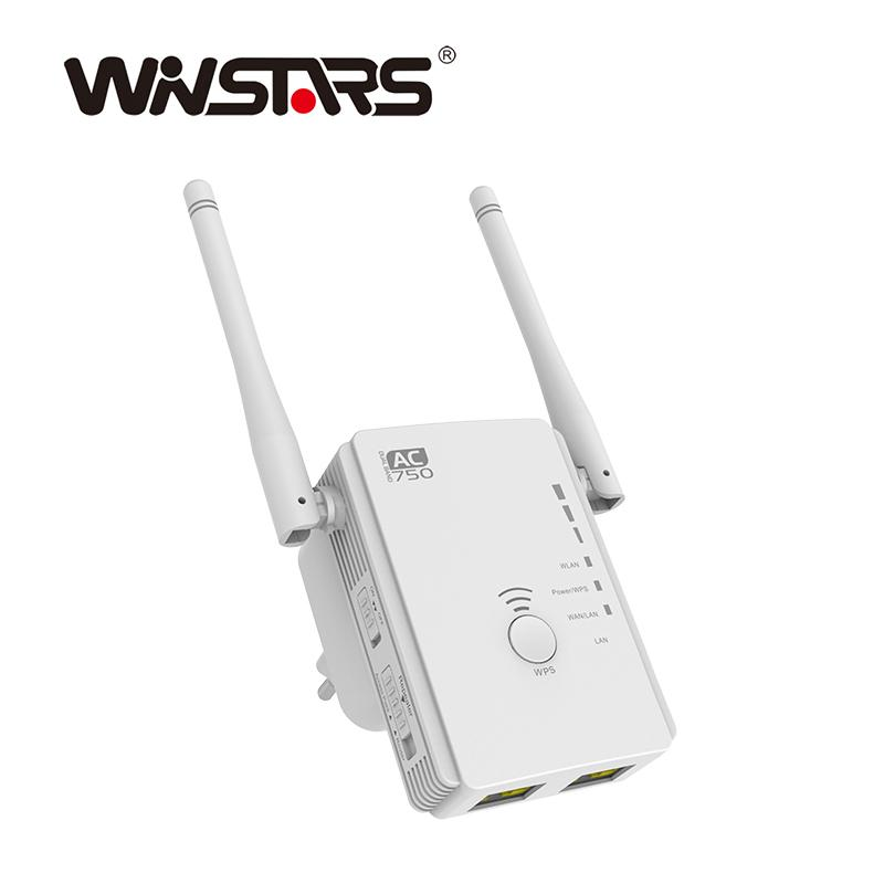 AC750 Dual Band Long Range Wireless Router Repeater AP with 2 Omni antennas 2