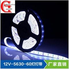 12V安全低压LED 5630高亮高显指60灯软灯条家居商业广告灯背光